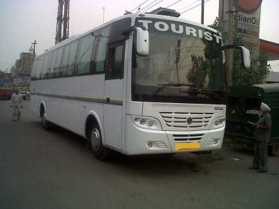 56 seater bus for rent