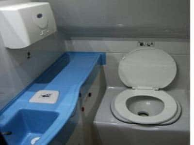tempo traveller with toilet