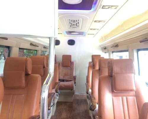 Tempo Traveller 10 Seater with Toilet