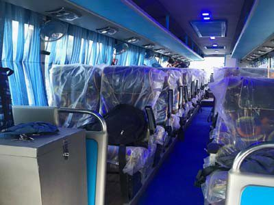 44 seater ac coach with toilet