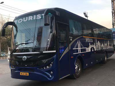 mercedes benz ac coach bus with toilet